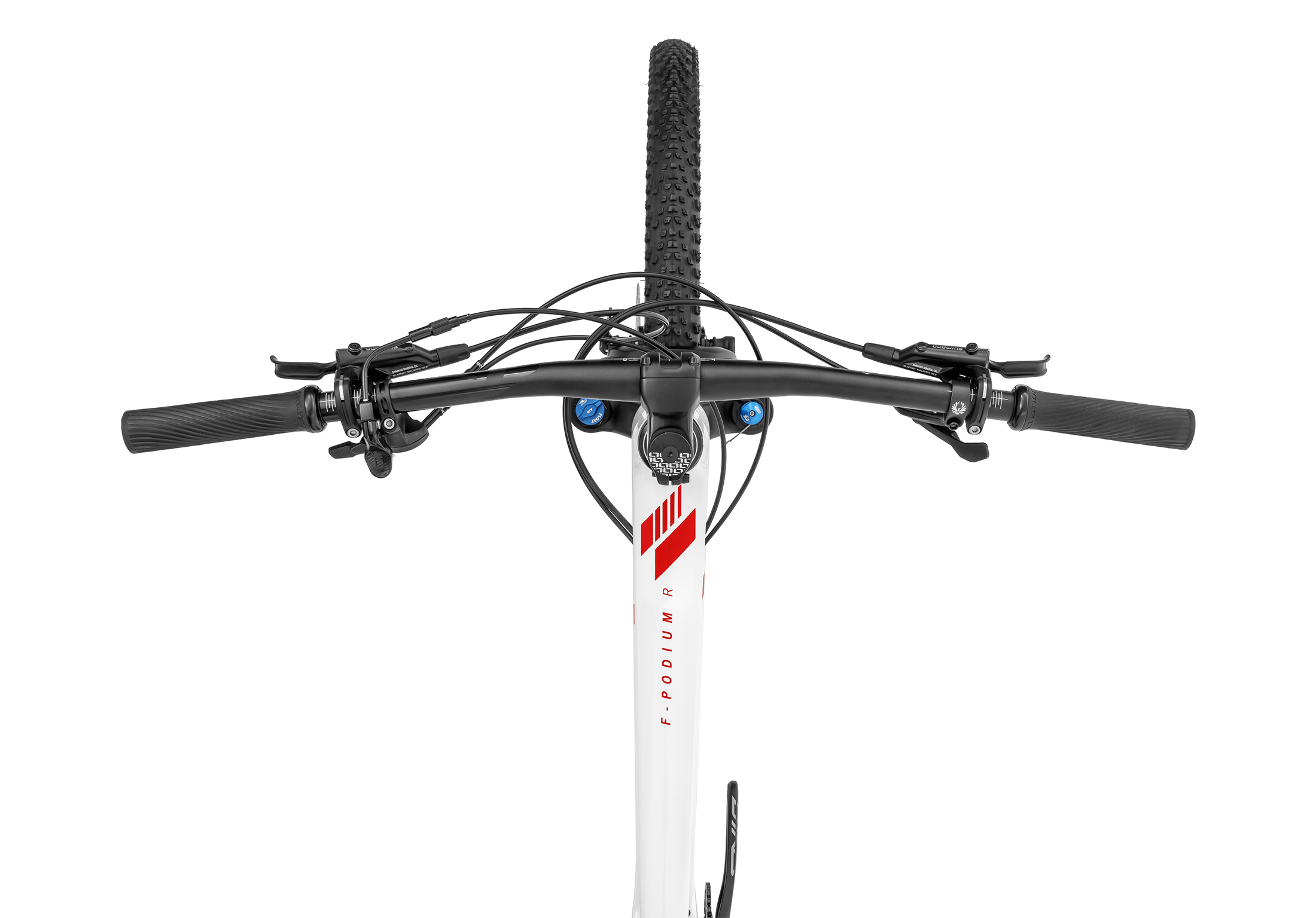 F-Podium Carbon DC R, white/carbon/flame red, 2020
