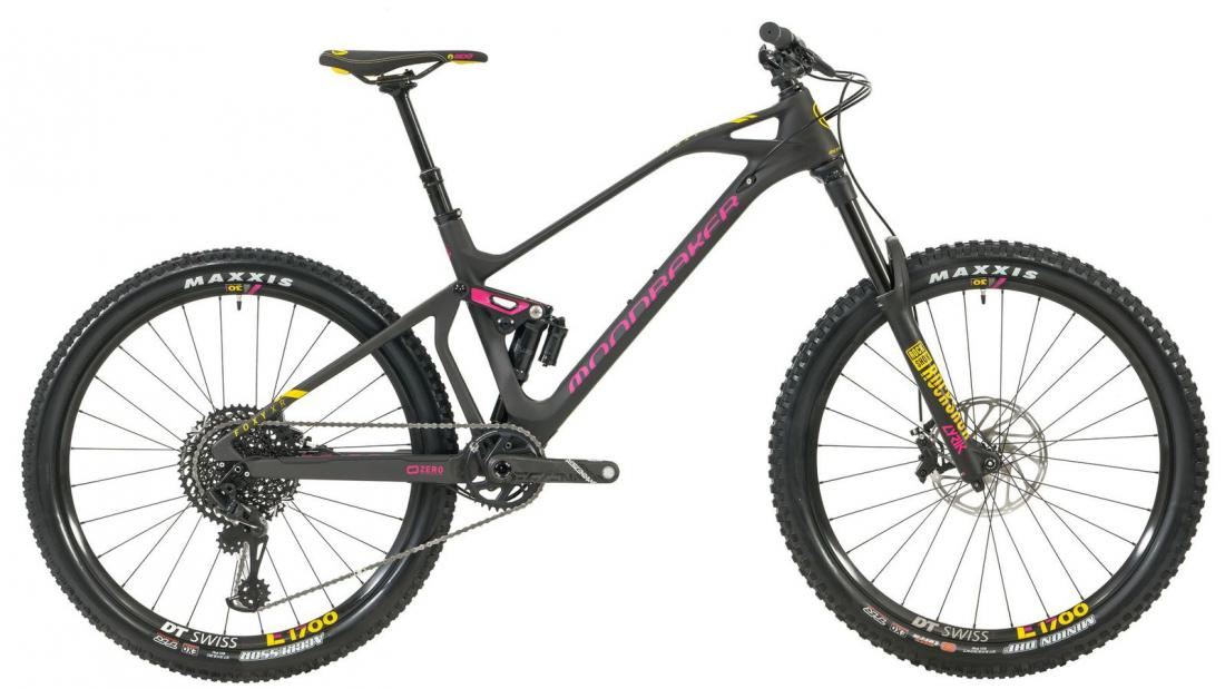 FOXY CARBON XR 27,5, carbon/fuchsia/yellow, 2019