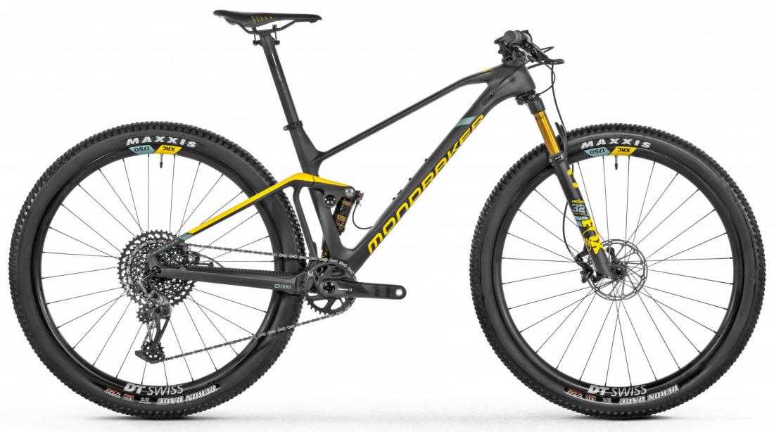 F-Podium Carbon R, carbon/yellow/green, 2021