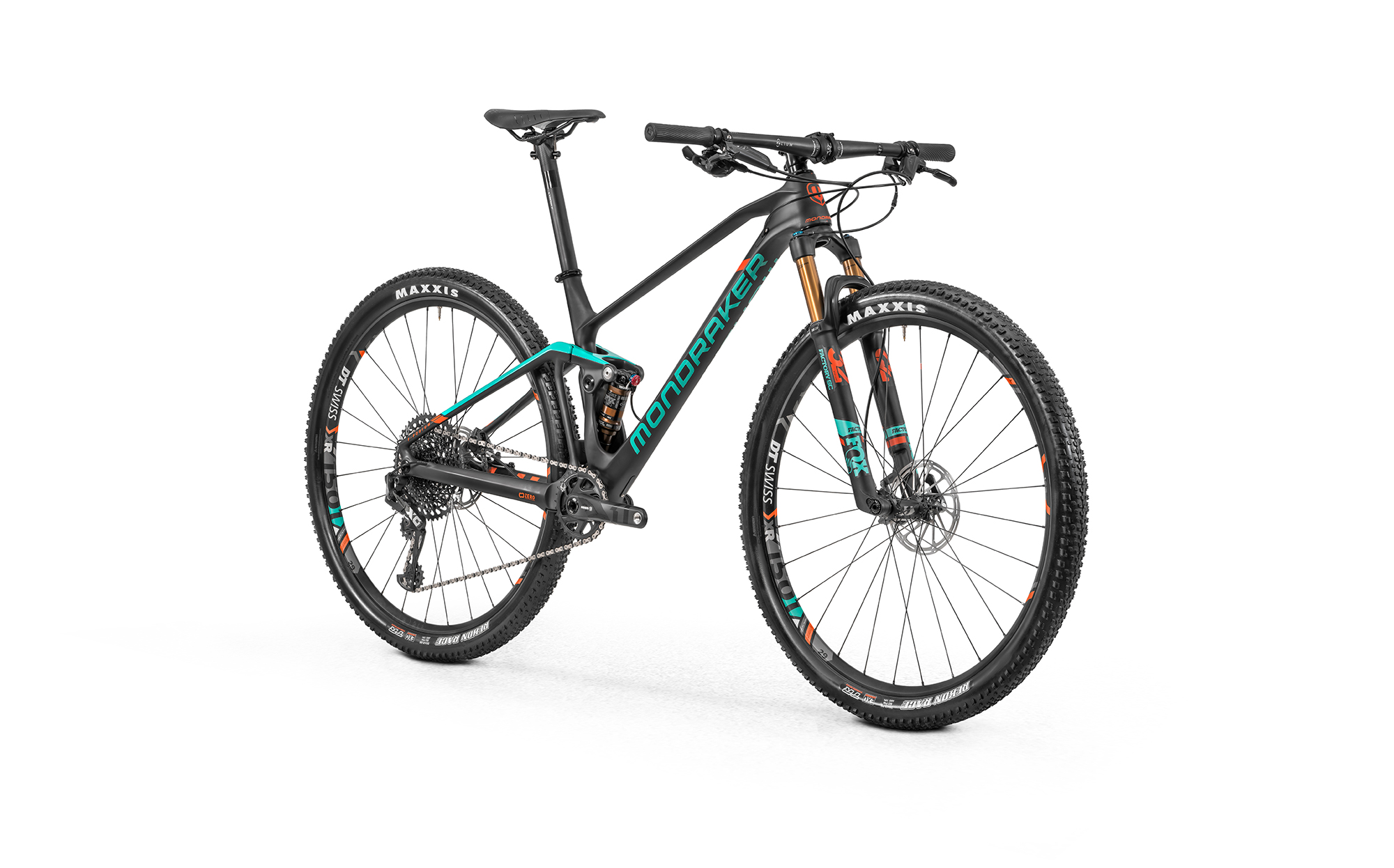 F-Podium Carbon R, carbon/light green/fox orange, 2020
