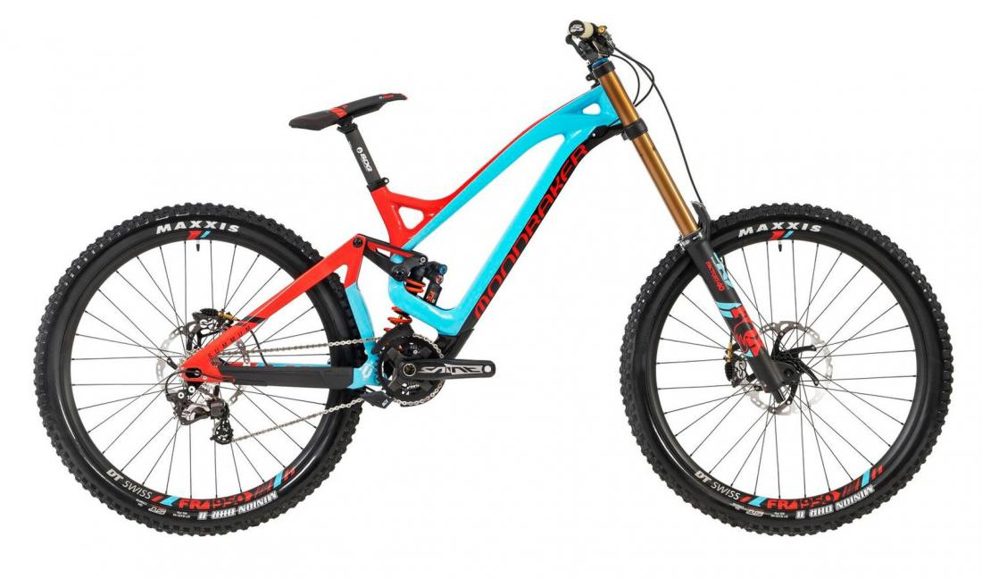 SUMMUM CARBON PRO TEAM 27,5, light blue/flame red/carbon, 2019