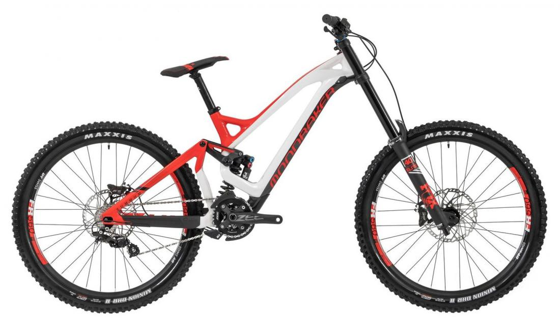 SUMMUM CARBON PRO 27,5, white/flame red/carbon, 2019