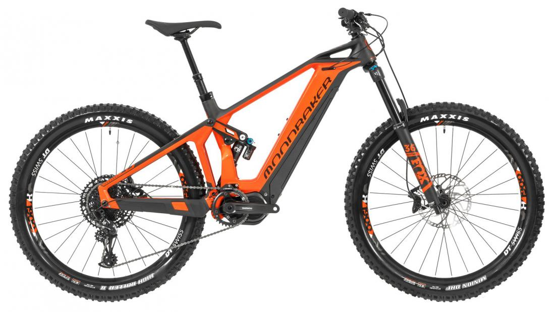 CRUSHER R+ 27,5, orange/carbon, 2019