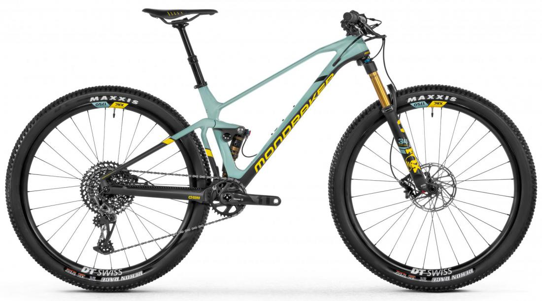 F-Podium DC Carbon R, green/carbon/yellow, 2021
