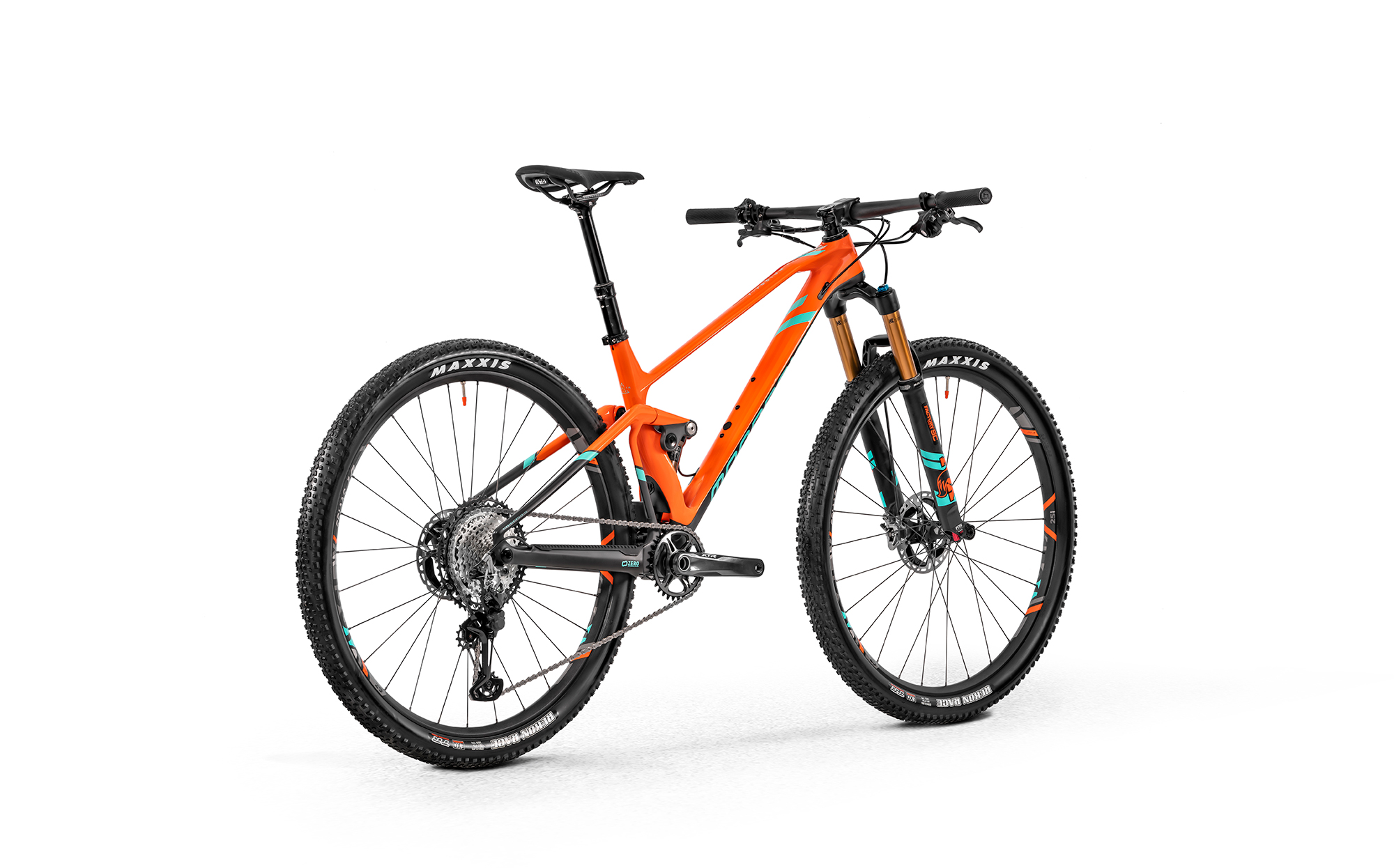 F-Podium Carbon DC RR, fox orange/carbon/light green, 2020
