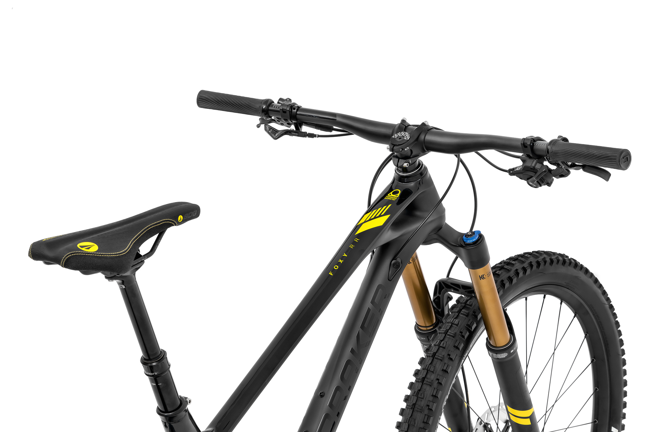 Foxy Carbon RR 29, black phantom/yellow, 2020