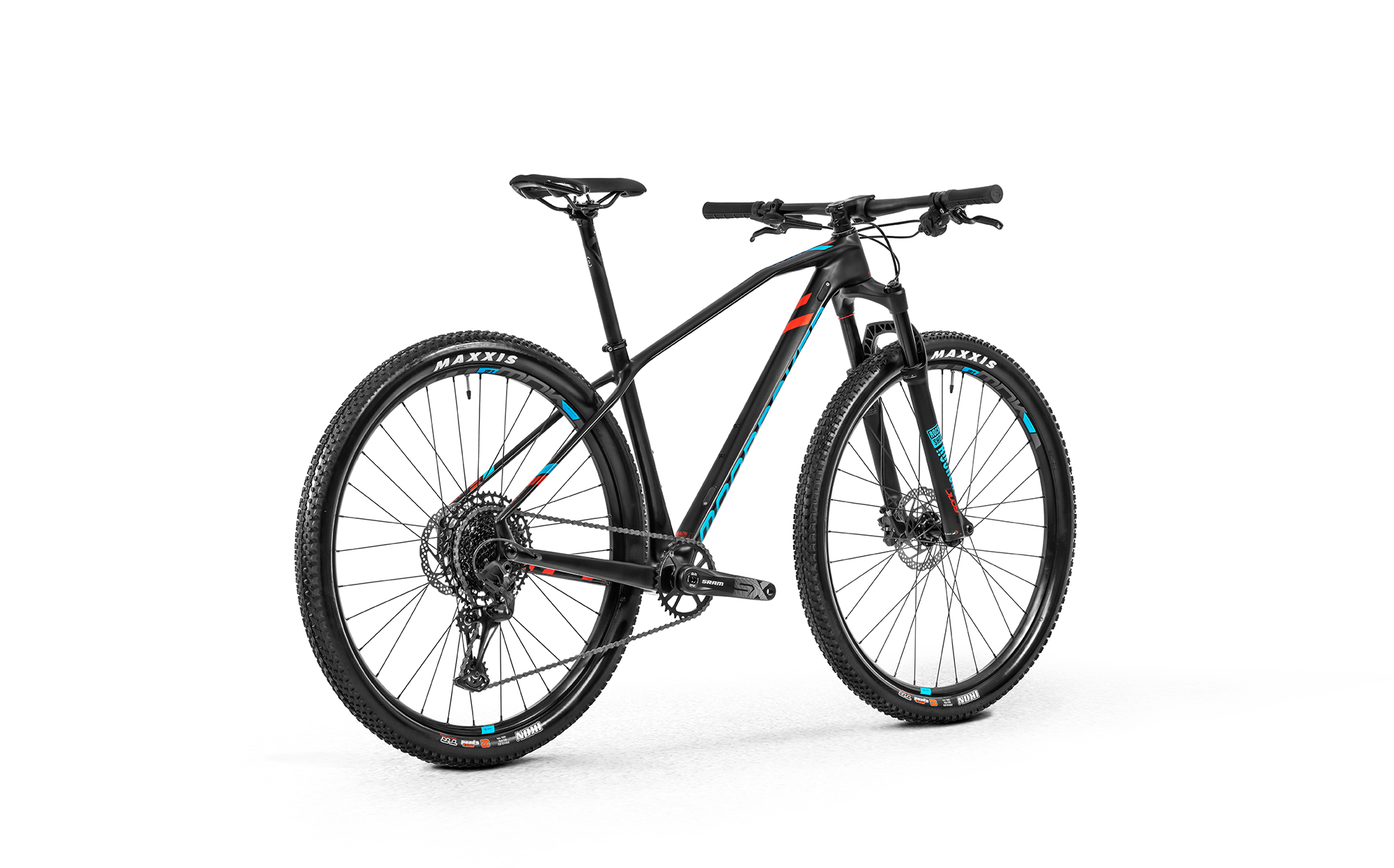 Chrono Carbon 29, carbon/light blue/flame red, 2020