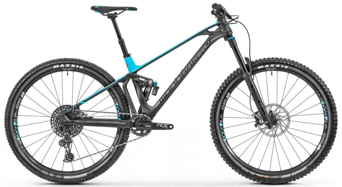 FOXY CARBON R 29, black phantom/light blue, 2019