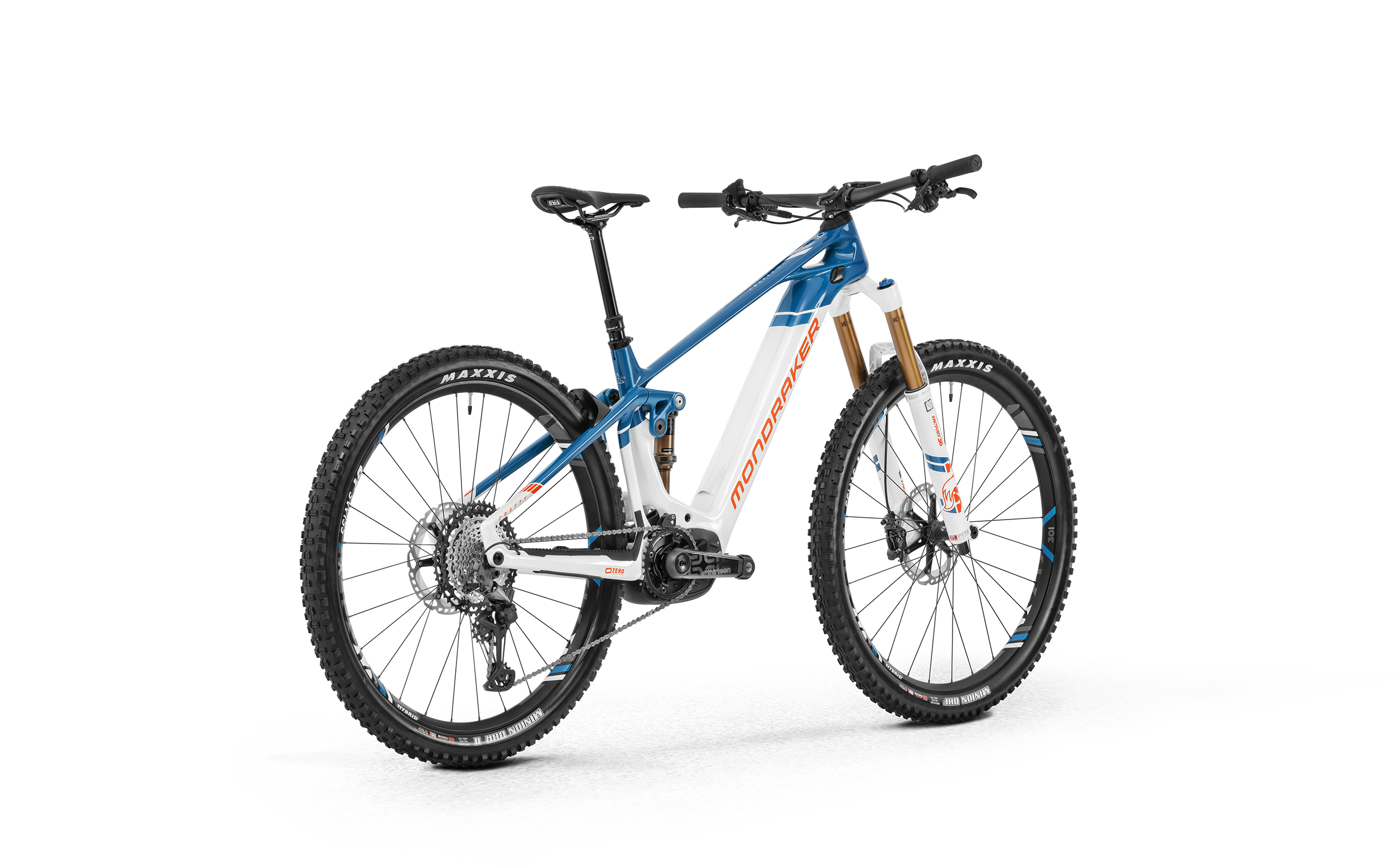Crafty Carbon RR, carbon/light blue/flame red, 2020