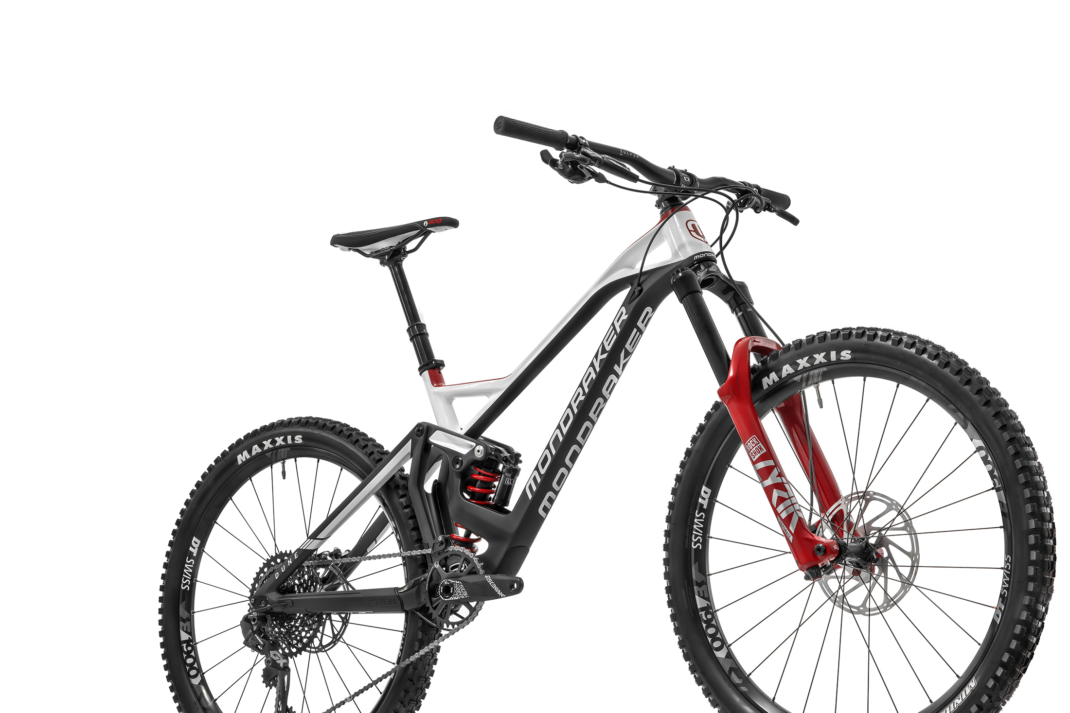 Dune Carbon XR, carbon/white/boxxer red, 2020