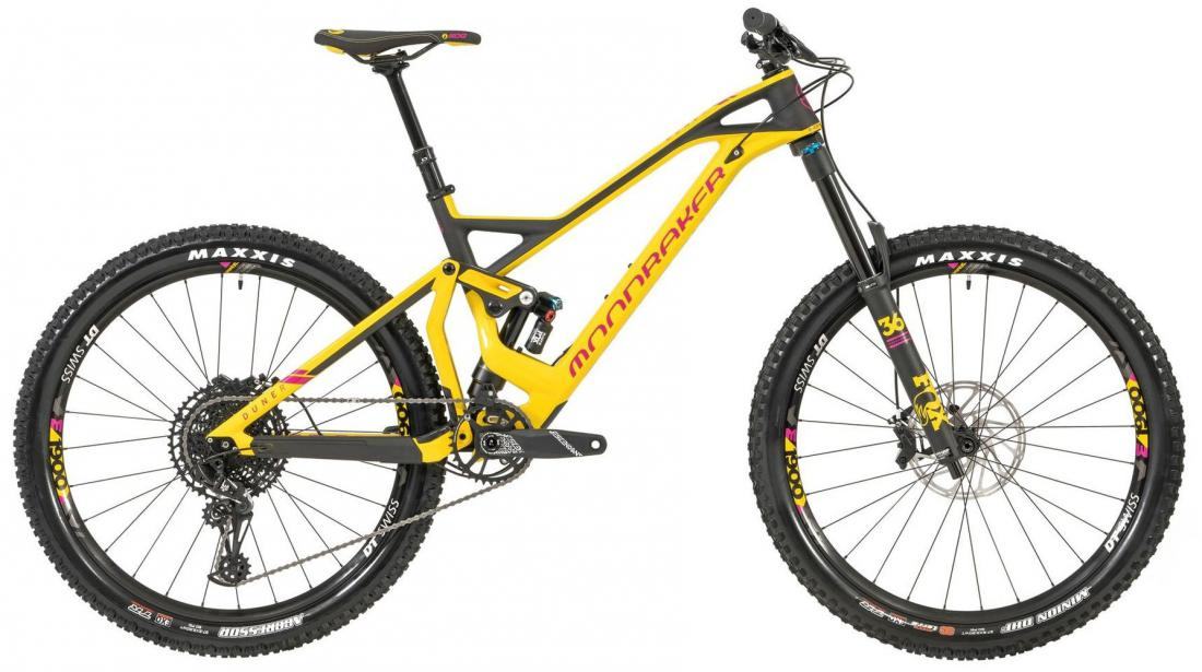 DUNE CARBON R 27,5, yellow/fuchsia/carbon, 2019