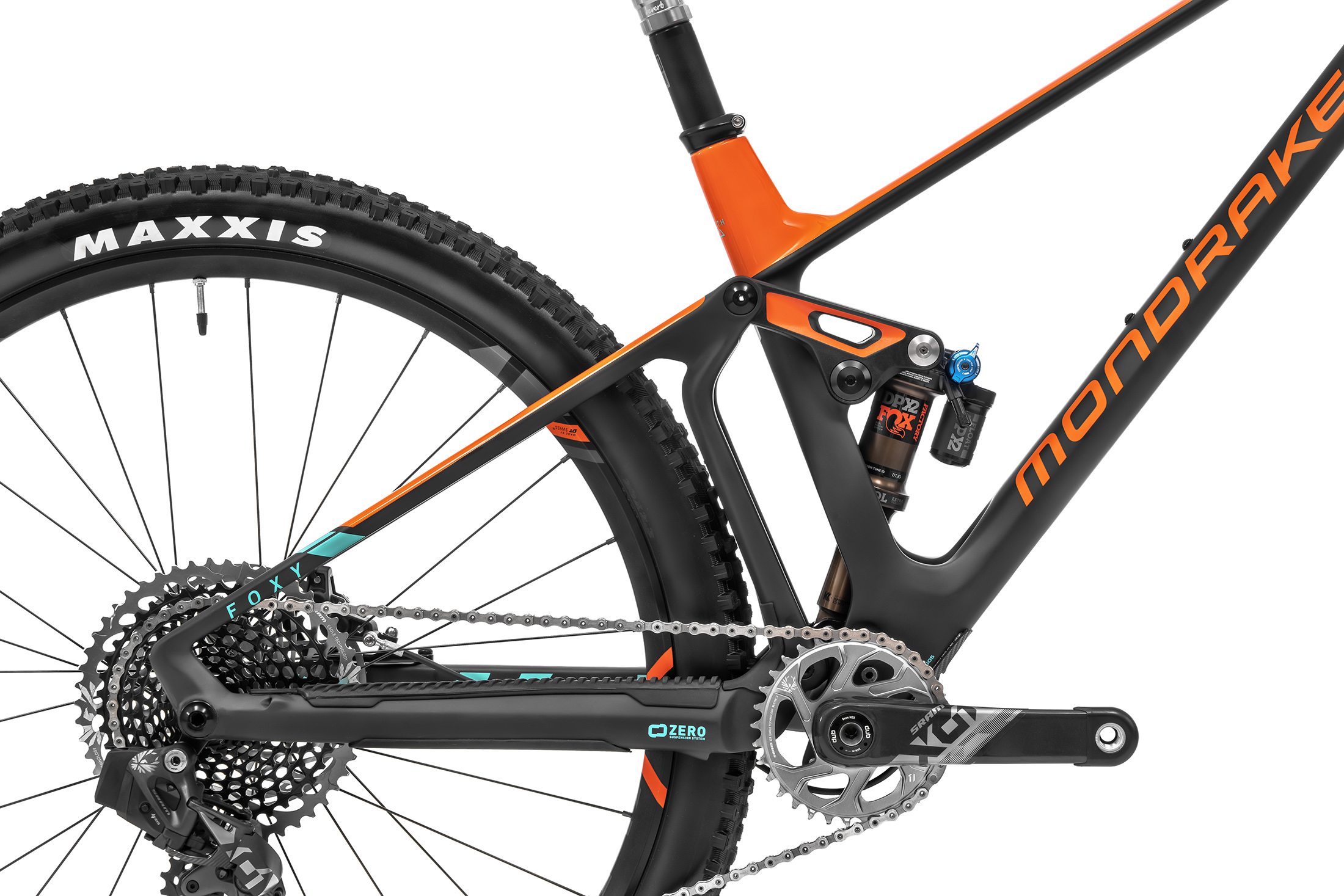 Foxy Carbon RR SL 29, carbon/fox orange/light green, 2020