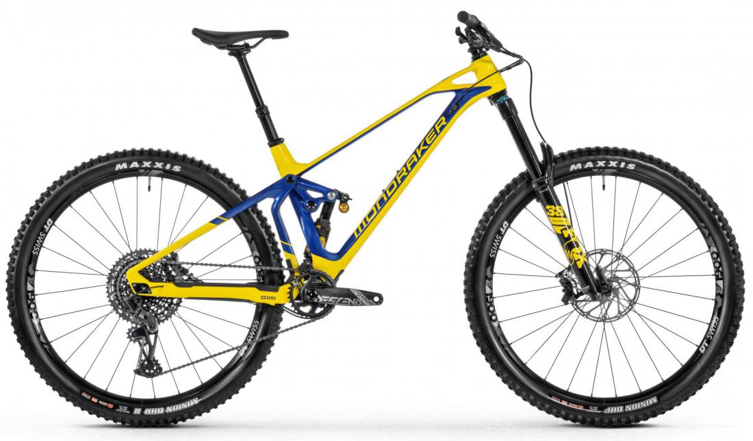 Superfoxy Carbon R, yellow/blue, 2021
