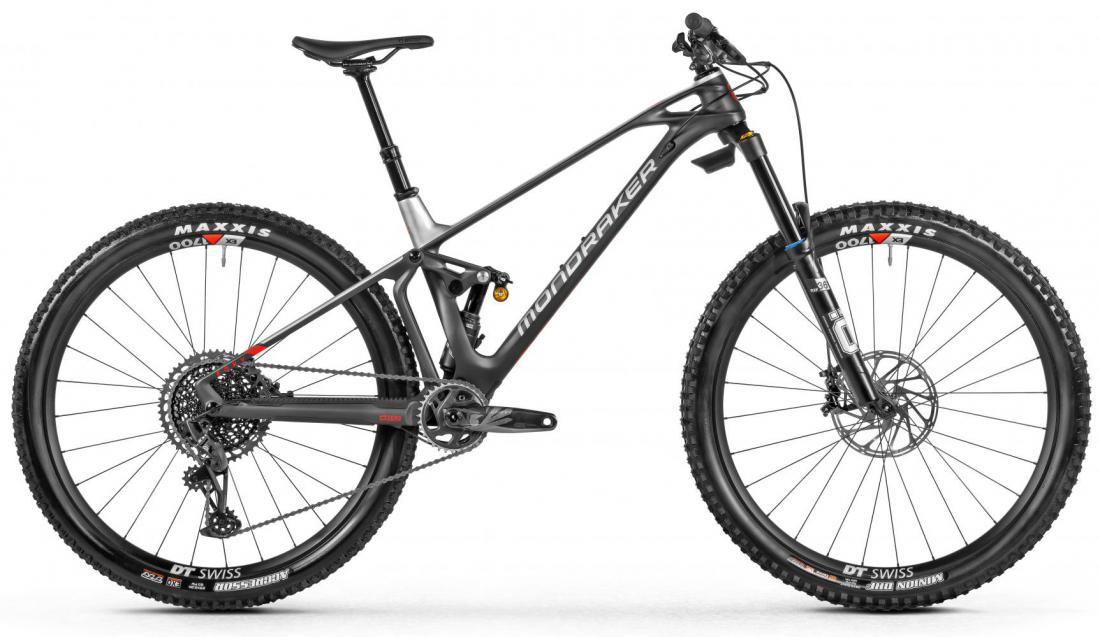Foxy Carbon RR, carbon/silver/red, 2021