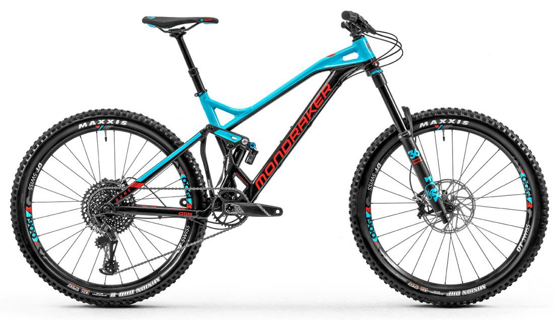 Dune R, black/light blue/flame red, 2020