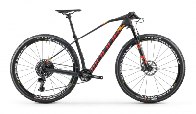 PODIUM CARBON R 29, carbon/flame red/amber